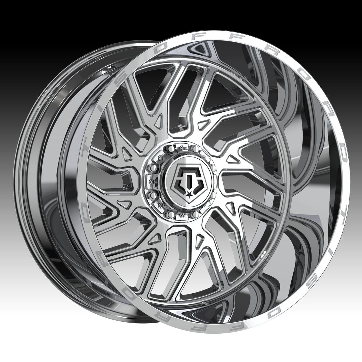 TIS 544V Chrome PVD Custom Wheels Rims - 544V - TIS Custom