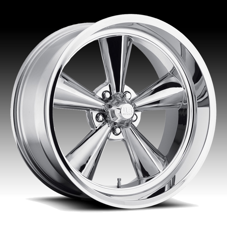 U S Mags U104 Standard Chrome Custom Wheels Rims U S
