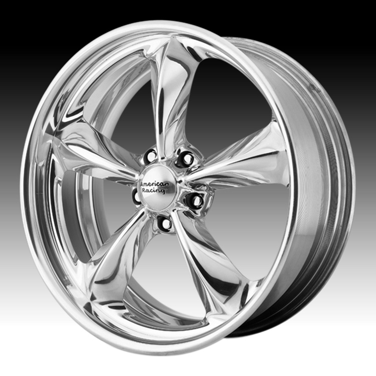 American Racing Torq Thrust Sl Vn425 Polished Custom Rims Wheels