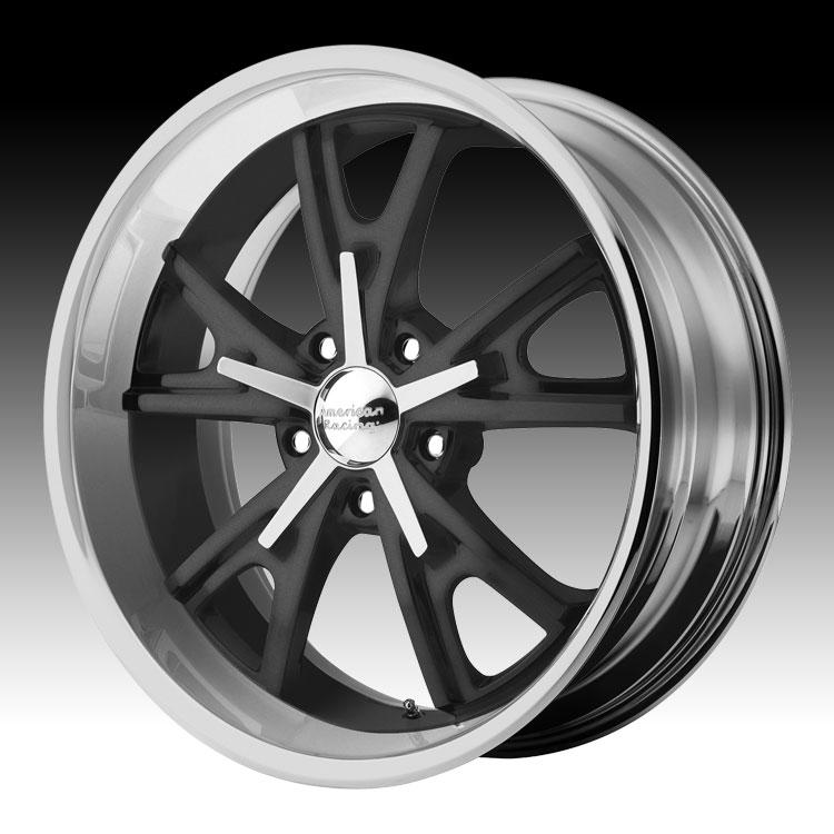 Walker Evans Racing >> American Racing VN801 801 Daytona Mag Gray Machined Custom Rims Wheels - Discontinued American ...