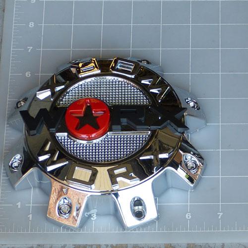 Wrx 8808l Worx Alloy 8 Lug Chrome Center Cap Worx