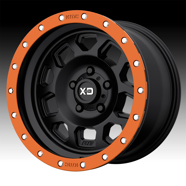 "25mm Satin Black Wheel Rim 17/"" Inch XD Series XD132 RG2 17x8 6x4.5/"""