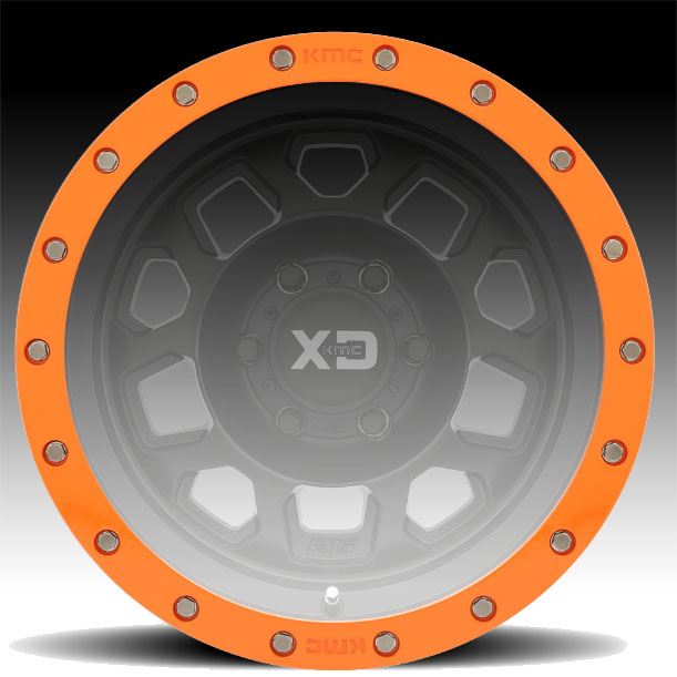 "Orange Dodge Ram >> XDBR17-OR / KMC XD132 17"" Orange Beadlock Ring - XDBR17-OR ..."