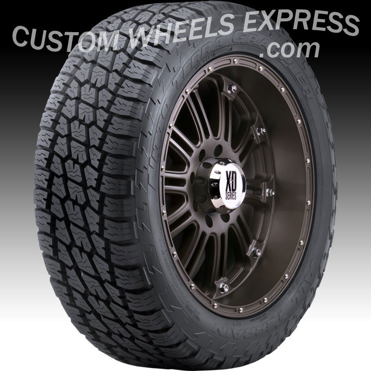 "Nitto Dura Grappler >> P265/70R16 112S Nitto Terra Grappler® All-Terrain Tires - Terra Grappler - 16"" Nitto Terra ..."