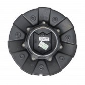 CAP-650-B18 / DropStars Gloss Black Snap-In Center Cap 3