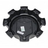 CAP-655BM-8-DB / DropStars Gloss Black Bolt-On Center Cap 3