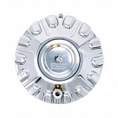 EF-604CR / Cruiser Alloy 604C RWD Reflection Chrome Bolt On Center Cap 3