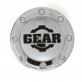 CAP-8LP-C17 / Gear Alloy Chrome Snap-In Center Cap 2