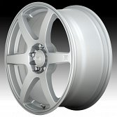Motegi Racing MR143 CS6 Hyper Silver Custom Wheels Rims 2