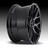 Niche Intake M189 Gloss Black Custom Wheels Rims 3