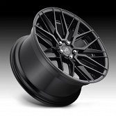 Niche Gamma M190 Matte Black Custom Wheels Rims 2
