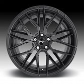 Niche Gamma M190 Matte Black Custom Wheels Rims 4