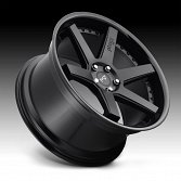 Niche Altair M192 2-Tone Black Custom Wheels Rims 2