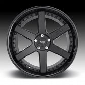 Niche Altair M192 2-Tone Black Custom Wheels Rims 4