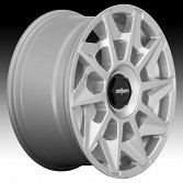 Rotiform CVT R124 Gloss Silver Custom Wheels Rims 2