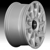Rotiform CVT R124 Gloss Silver Custom Wheels Rims 3
