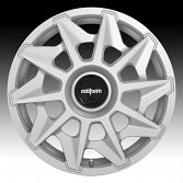 Rotiform CVT R124 Gloss Silver Custom Wheels Rims 4