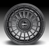 Rotiform LAS-R R142 Matte Black Custom Wheels Rims 4