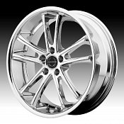 Asanti Black Label ABL-1 Chrome Custom Wheels Rims