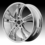 Asanti Black Label ABL-6 Chrome Custom Wheels Rims