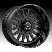 American Force Atom SS Gloss Black Custom Wheels Rims