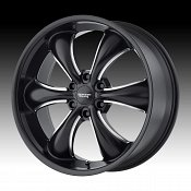 American Racing AR914 TT60 Truck Satin Black Milled Custom Wheel