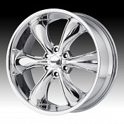 American Racing AR914 TT60 Truck Chrome PVD Custom Wheels Rims