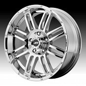 American Racing AR901 Chrome Custom Rims Wheels