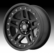 ATX Series AX195 Cornice Black Teflon® Custom Rims Wheels