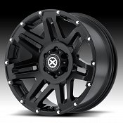 ATX Series AX200 Cast Iron Black Custom Wheels Rims