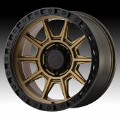 ATX Series AX202 Matte Bronze Custom Wheels Rims