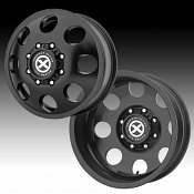 ATX Series AX204 Baja Dually Satin Black Custom Wheels Rims