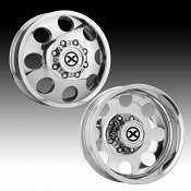 ATX Series AX204 Baja Dually Polished Custom Wheels Rims