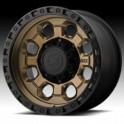 ATX Series AX201 Matte Bronze Custom Wheels Rims