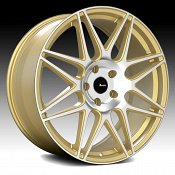 Advanti Racing CL Classe Machined Gold Custom Wheels Rims