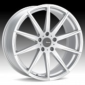 Advanti Racing DI Dieci Silver Custom Wheels Rims