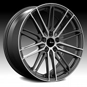 Advanti Racing DS Diviso Machined Black Custom Wheels Rims