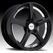 Advanti Racing 15th Anniversary Matte Black Custom Wheels Rims