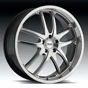 Advanti Racing A3 Maui Mirror Hyper Silver Custom Rims Wheels