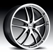 Advanti Racing A3 Maui Gloss Black w/ Machined Face Custom Rims
