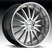 Advanti Racing A8 Afoso Mirror Hyper Silver Custom Rims Wheels