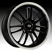 Advanti Racing S3 Stilo Gloss Black w/ Ball Milled Accents Custo