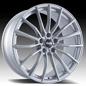 Advanti Racing B1 Lupo Silver Custom Wheels Rims