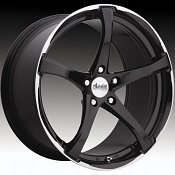 Advanti Racing B2 Denaro Gloss Black w/ Machined Lip Custom Whee