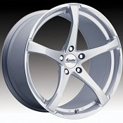 Advanti Racing B2 Denaro Silver w/ Machined Lip Custom Wheels Ri