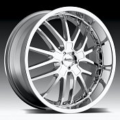 Advanti Racing A5 Ligero Chrome Custom Rims Wheels