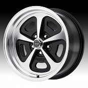 American Racing VN501 500 Mono Cast Machined Black Custom Wheels