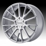 American Racing AR904 Machined Silver Custom Wheels Rims