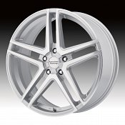 American Racing AR907 Machined Silver Custom Wheels Rims