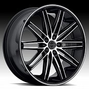 Asanti Black Label ABL-10 Machined Black Custom Wheels